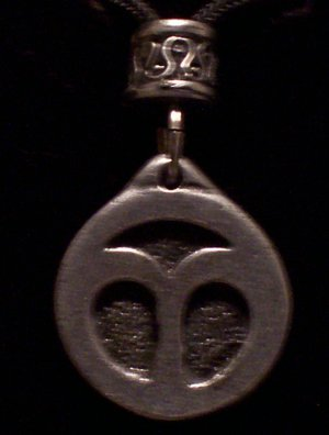 Pewter Aries Pendant
