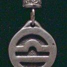 Pewter Libra Pendant