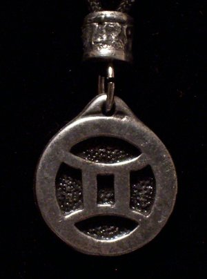 Pewter Gemini Pendant
