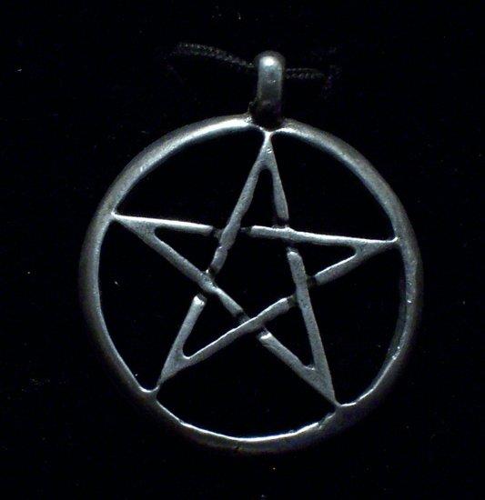 Pewter Pentacle Pendant