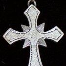 Pewter Crusader's Cross Pendant