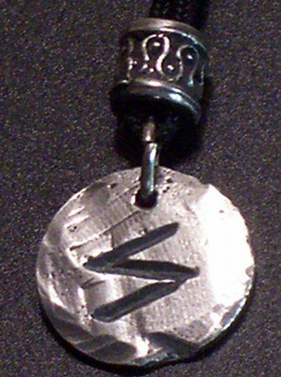 Pewter Rune Pendant- Sigel- Success
