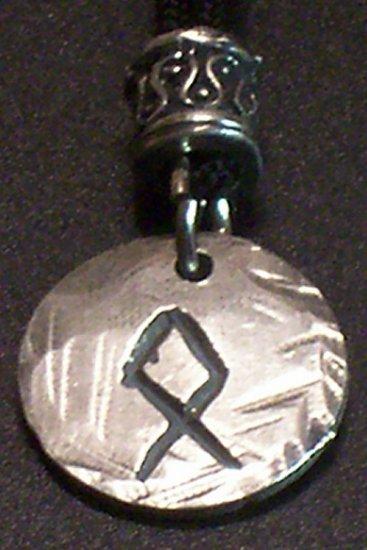 Pewter Rune Pendant-Othel- Possessions