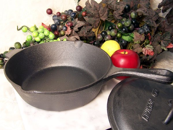Old Mountain Deep Fry Cast Iron Skillet