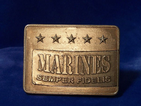 Knife Buckle Marines
