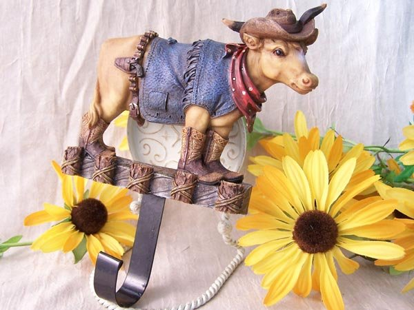 "Western ""Cow Boy"" Wall Hook"