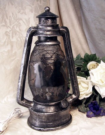 Western Cowboy Lantern Night Light