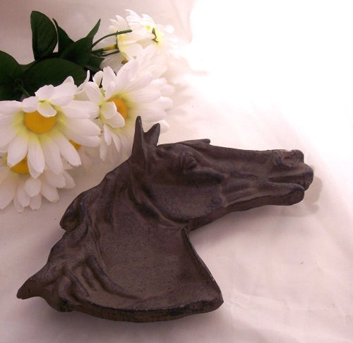Cast Iron Horse Dish