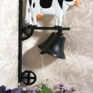 Cast Iron Dinner Bell - Cow