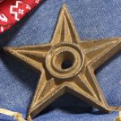 Cast Iron Star - Center Hole LARGE