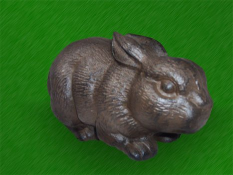 Cast Iron Rabbit Door Stop