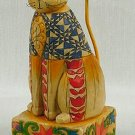 Jim Shore Cat Figurine Patriotic