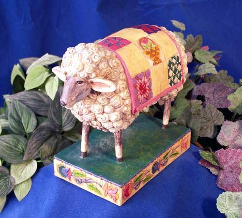 Jim Shore Sheep Figurine