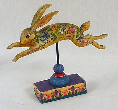 Jim Shore Rabbit Figurine