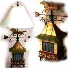 Jim Shore Horse Weathervane Lamp