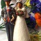 Jim Shore Bride & Groom Cake Topper