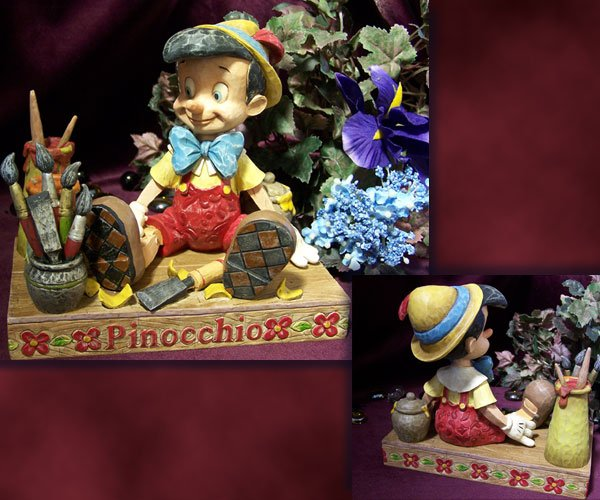 Jim Shore Pinocchio Carved