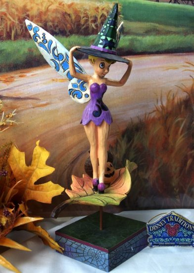 "Jim Shore Disney Tinkerbelle ""Pixie-Be-Witched"""