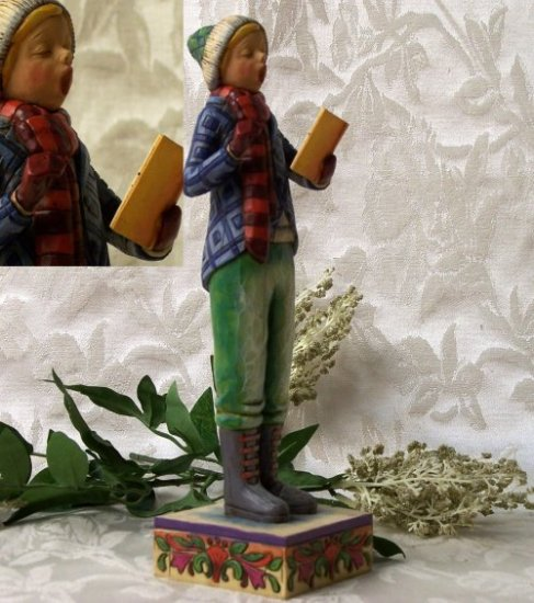 Jim Shore Caroler - Boy