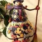 "Jim Shore Snowman Disney's ""Old Fashioned"""