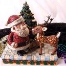 Jim Shore Santa & Rudolph