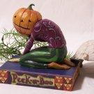Jim Shore Pumpkin Head Peek a Boo