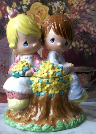 "Precious Moments ""Simply Adorable"" Cookie Jar"