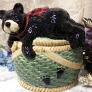 "Cookie Jar ""Bearfootin"""