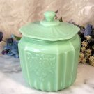 Mayfair Cookie Jar Jadeite Green