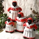 Set of 4 Aunt Jemima Canister