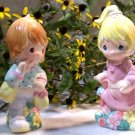 "Precious Moments ""Girlfriends Shopping"" Salt & Pepper Shakers"
