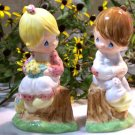 "Precious Moments ""Simply Adorable"" Salt & Pepper Shakers"