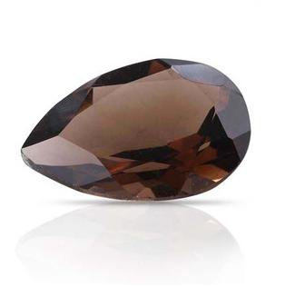 Certified Natural Smoky Quartz AAA Quality 18x13 mm Faceted Pears Shape Pair Loose Gemstone