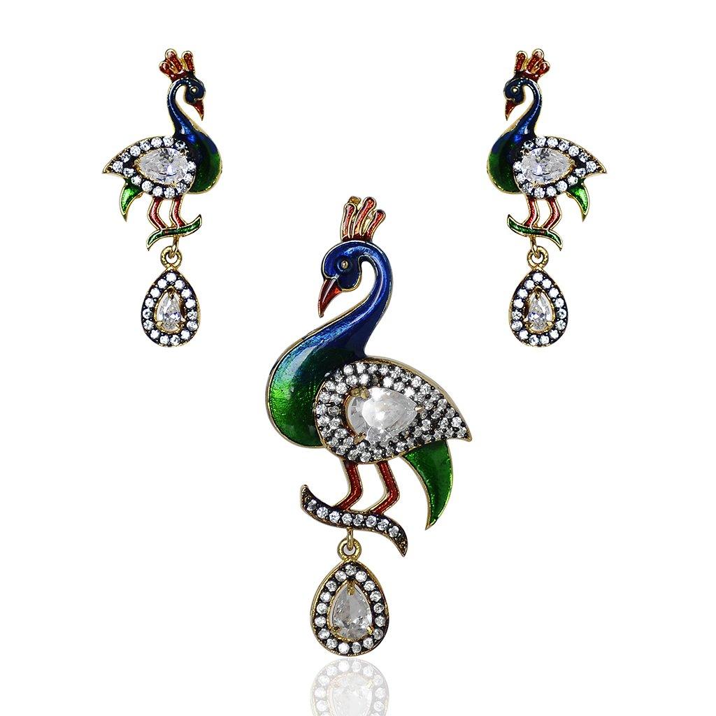 Peacock Designer Earring