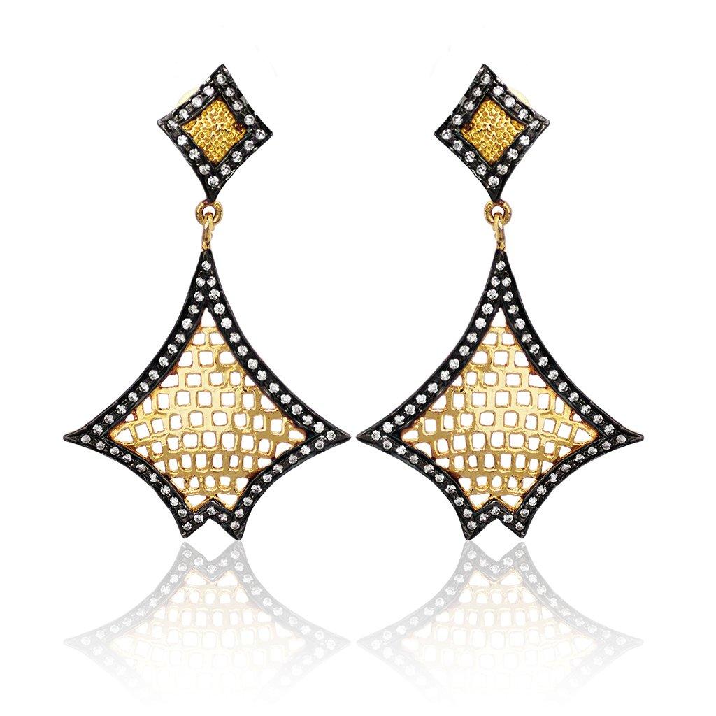 Sieve Designer Earring