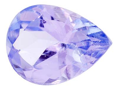 Certified Natural Tanzanite A Quality 8x6 mm Faceted Pear 1 pc  loose gemstone