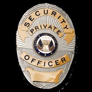 Private Security Officer Two-Tone FCBA03