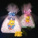 Our Looney tunes Large Stork Diaper Cake Bundle for Baby Boy, Girl & Unisex