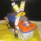 Amazing Diaper Cake Motorcycle for Brand New Baby By Little Kg's Dreams