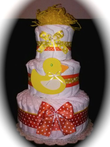 Little Duck Diaper Cake Three Tier