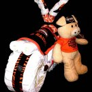 Boy Harley Davidson Diaper Cake Stroller motorcycle Baby Shower Centerpiece By Little Kg's Dreams
