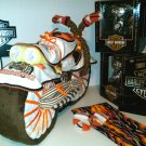 Adorable diaper cake real Motorcycle Look for Brand new Harley Davidson baby boy
