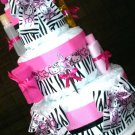 Hello Kitty Diaper Cake W/johnson Products Baby Shower CenterpieceBy Little Kg's Dreams