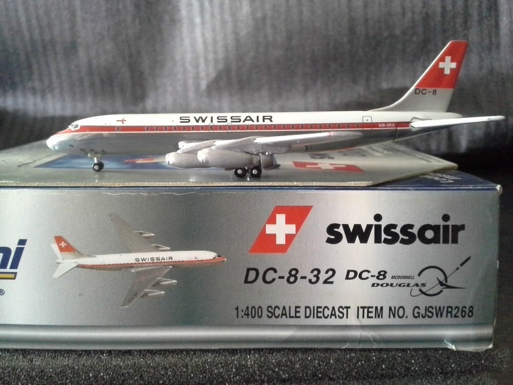 GEMINI JETS SWISSAIR DC-8-32  1:400