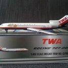 GEMINI JETS TWA 727-200  TRANS WORLD AIRLINES