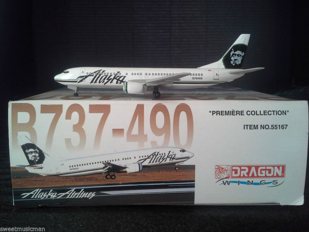 DRAGON WINGS ALASKA AIRLINES B737-490