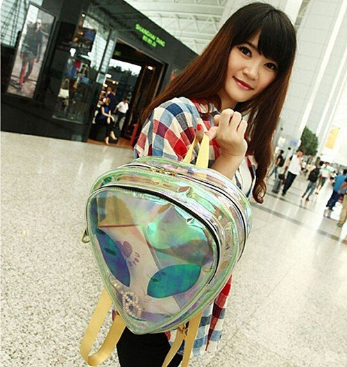 Alien Backpack Bolso Wh206 Kawaii Clothing
