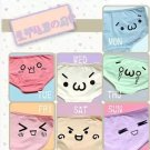 Kaomoji Panties / Bragas Emoticono WH088 Kawaii Clothing