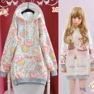 Kawaii Sweatshirt Sudadera WH153 Kawaii Clothing