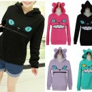 Cat Mouth Hoodie / Sudadera Boca Gato WH005 Kawaii Clothing